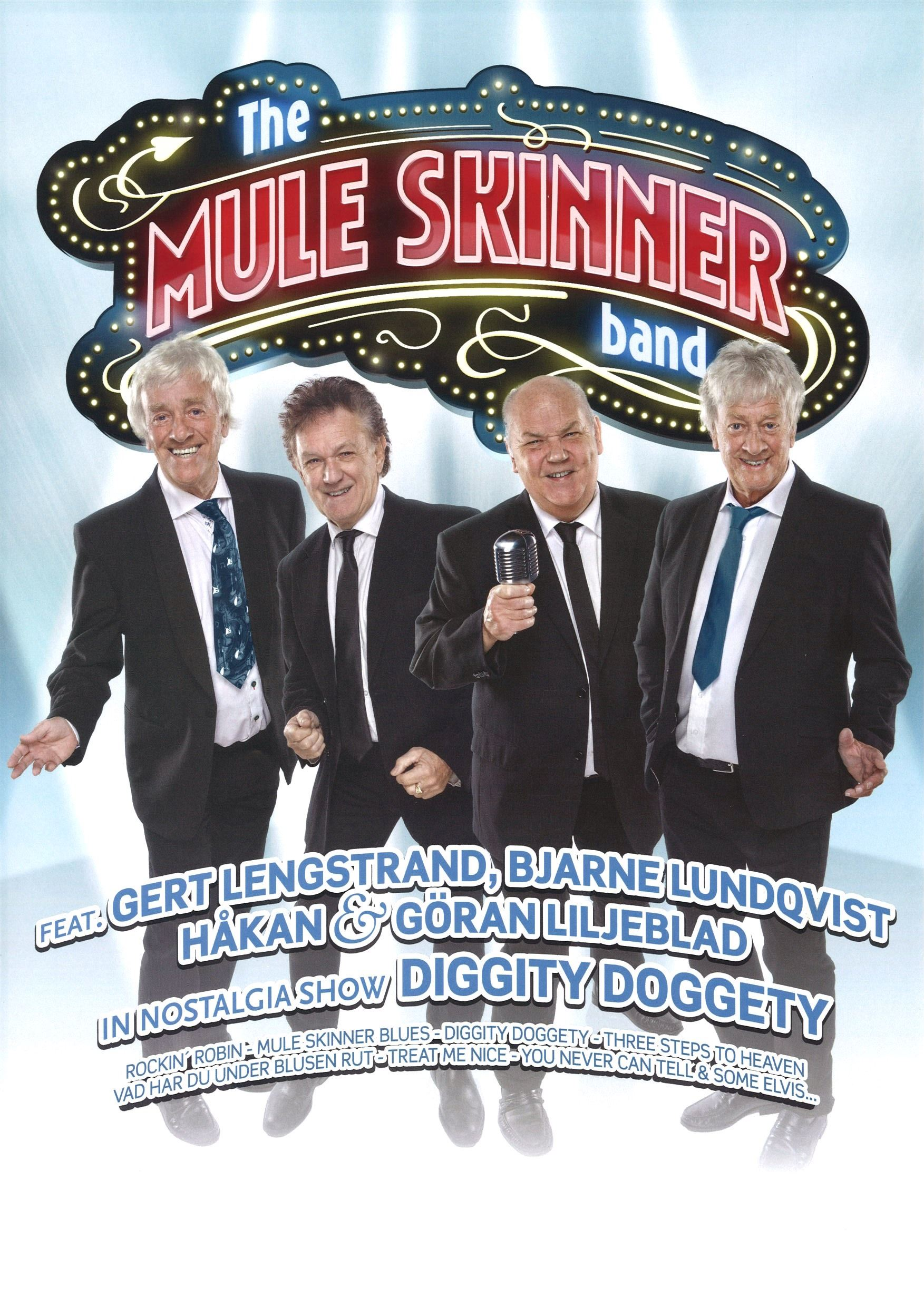 Konsert: The Mule Skinner band