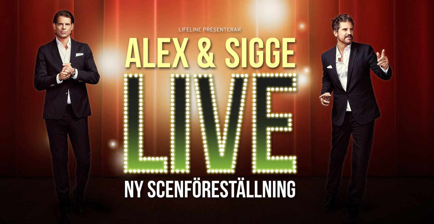 Alex och Sigge Live