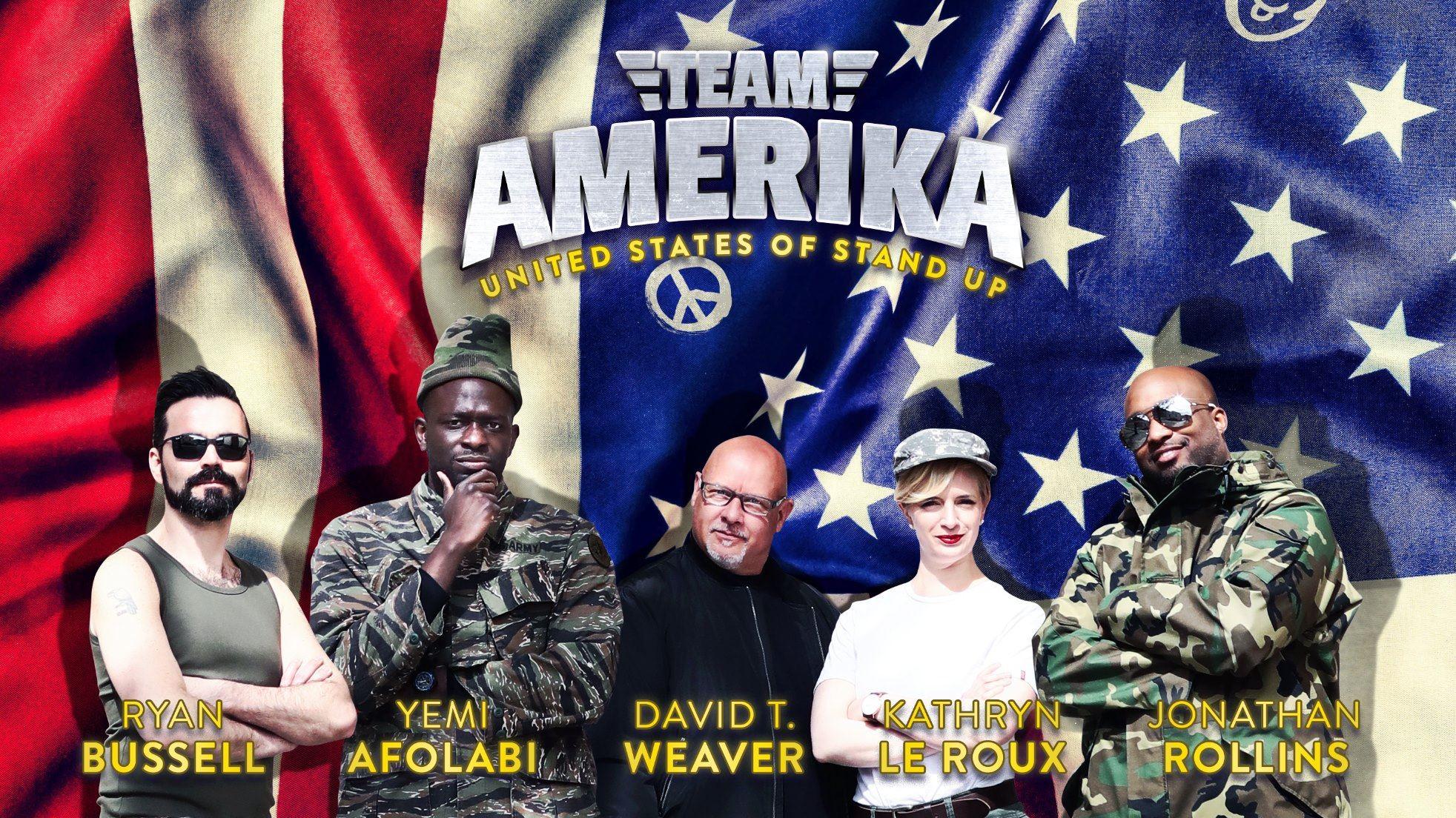Stand-up med Amerikansk tema på Stadt