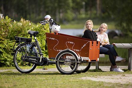 U-bike - uthyrning av eldrivna lådcyklar