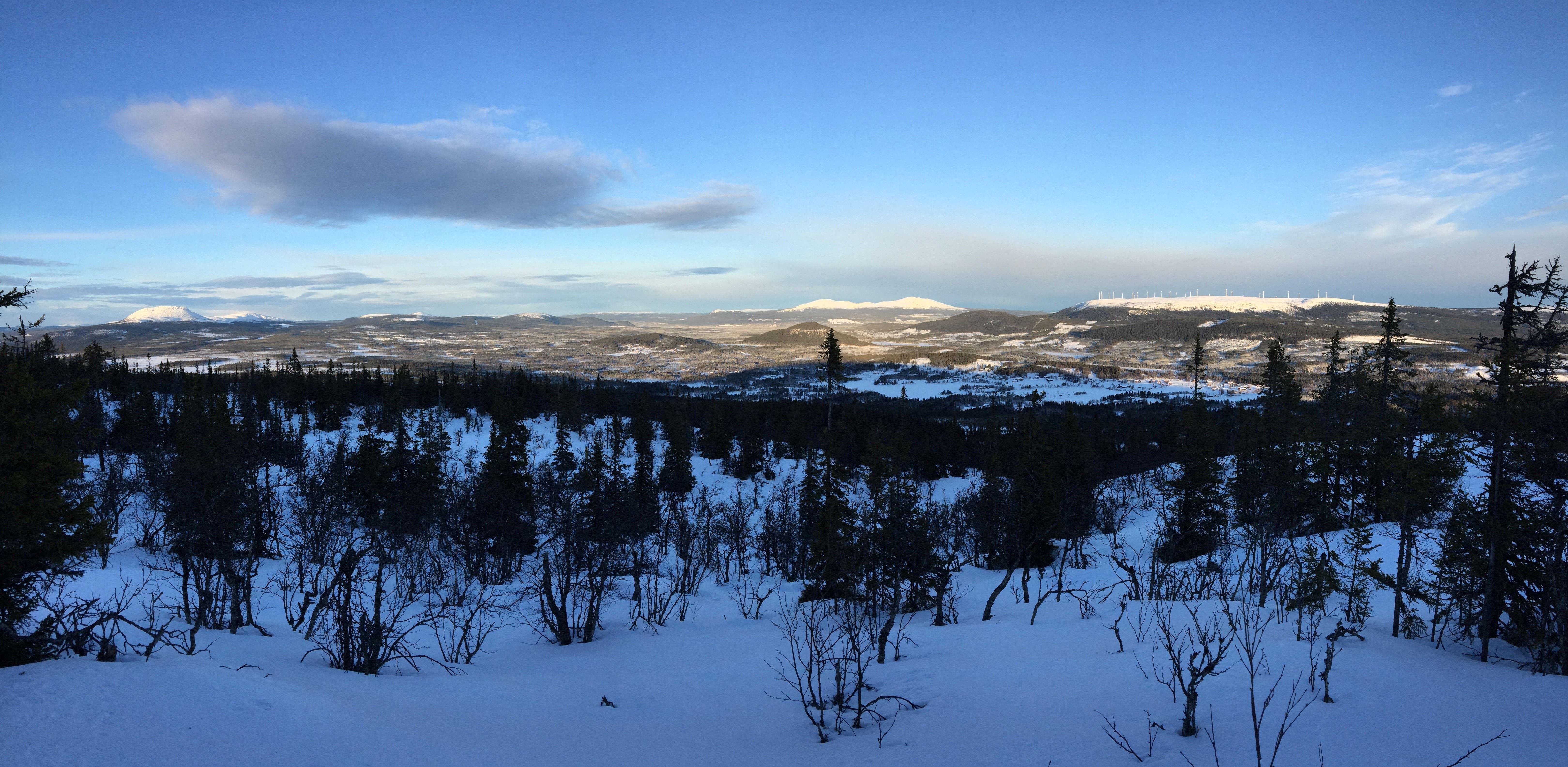 Utsikt från Glöte