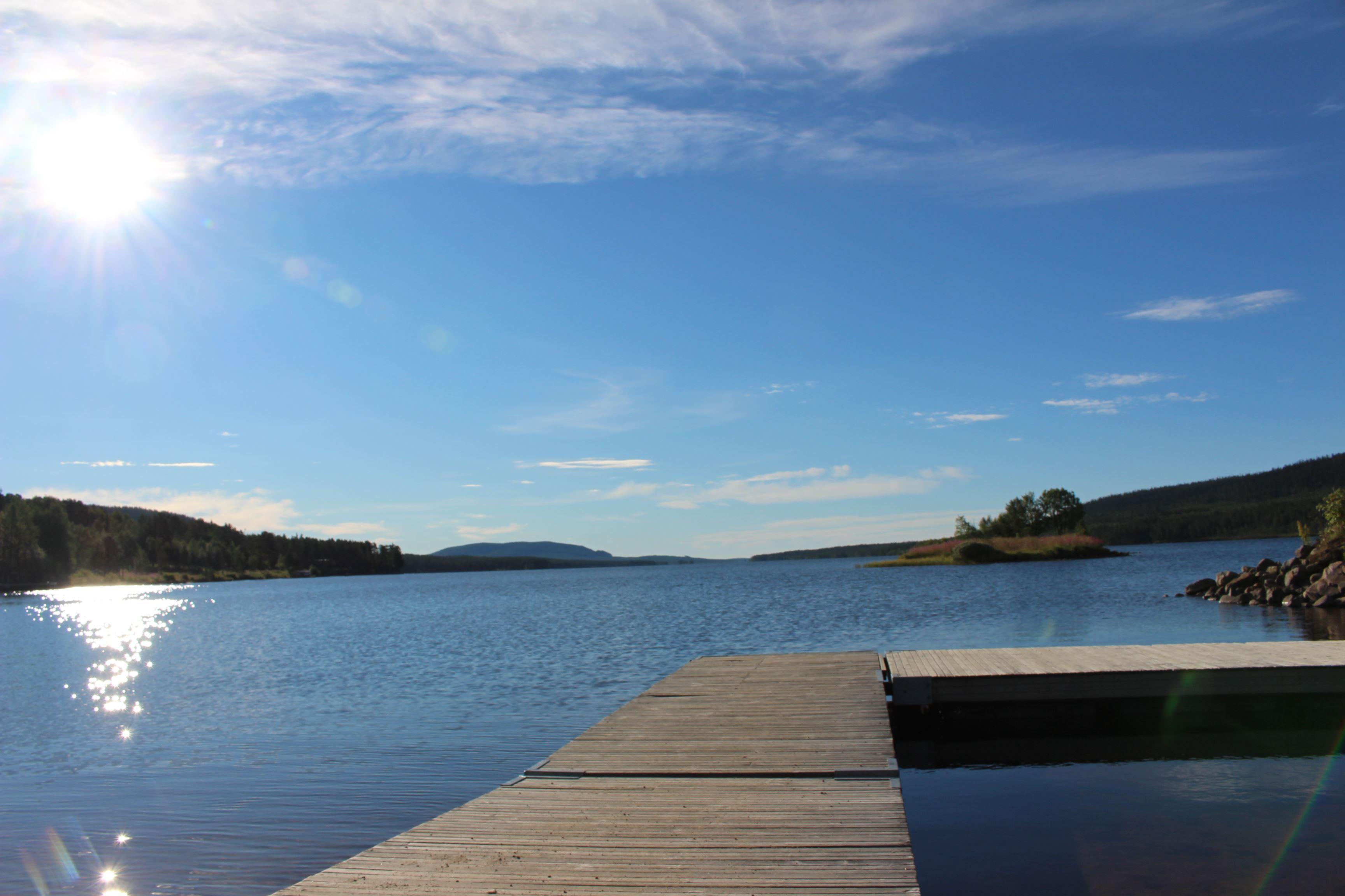 Bryggan vid Lofssjön