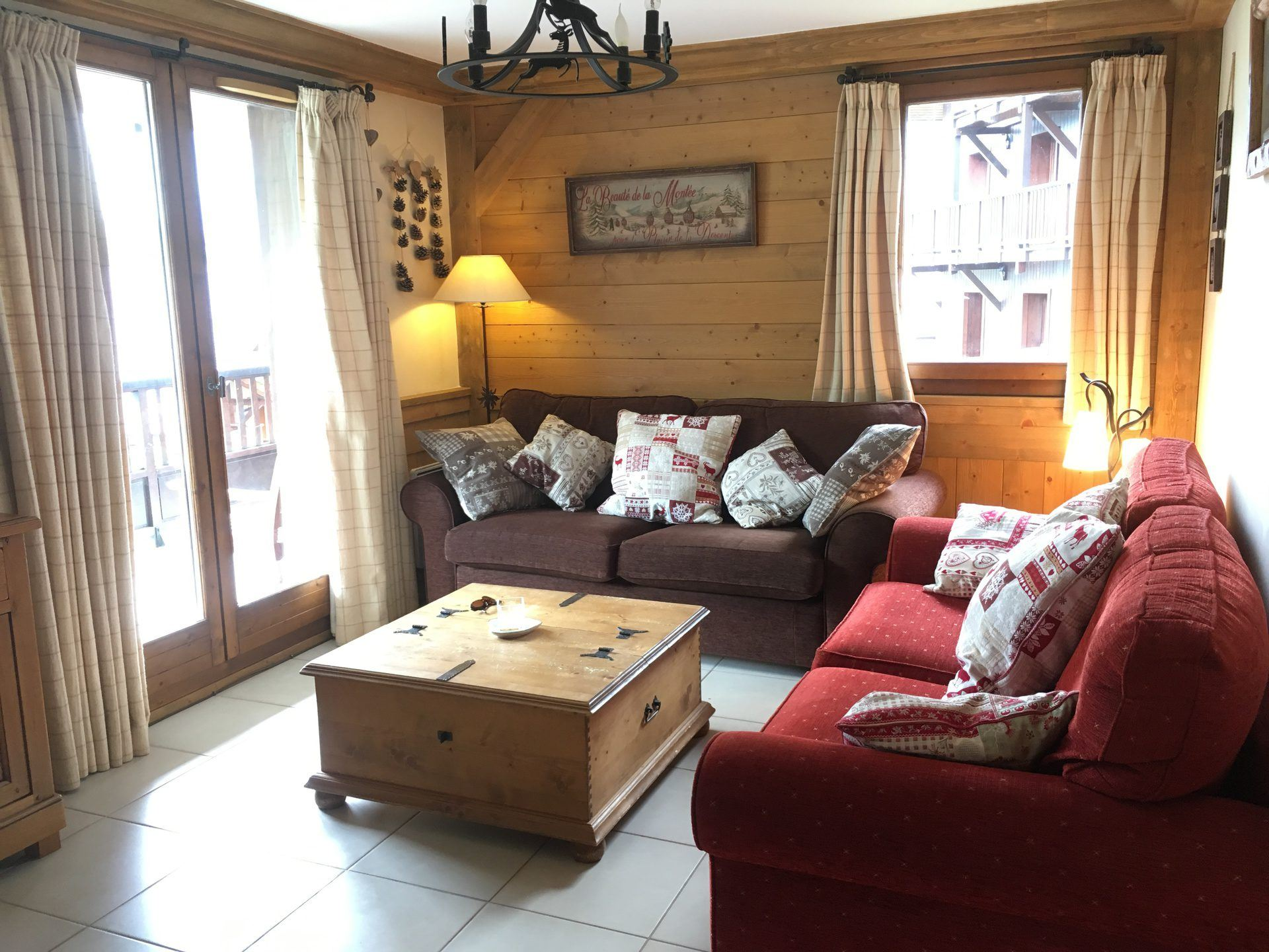 4 Rooms 8 Pers ski-in ski-out / LE COCHET 8