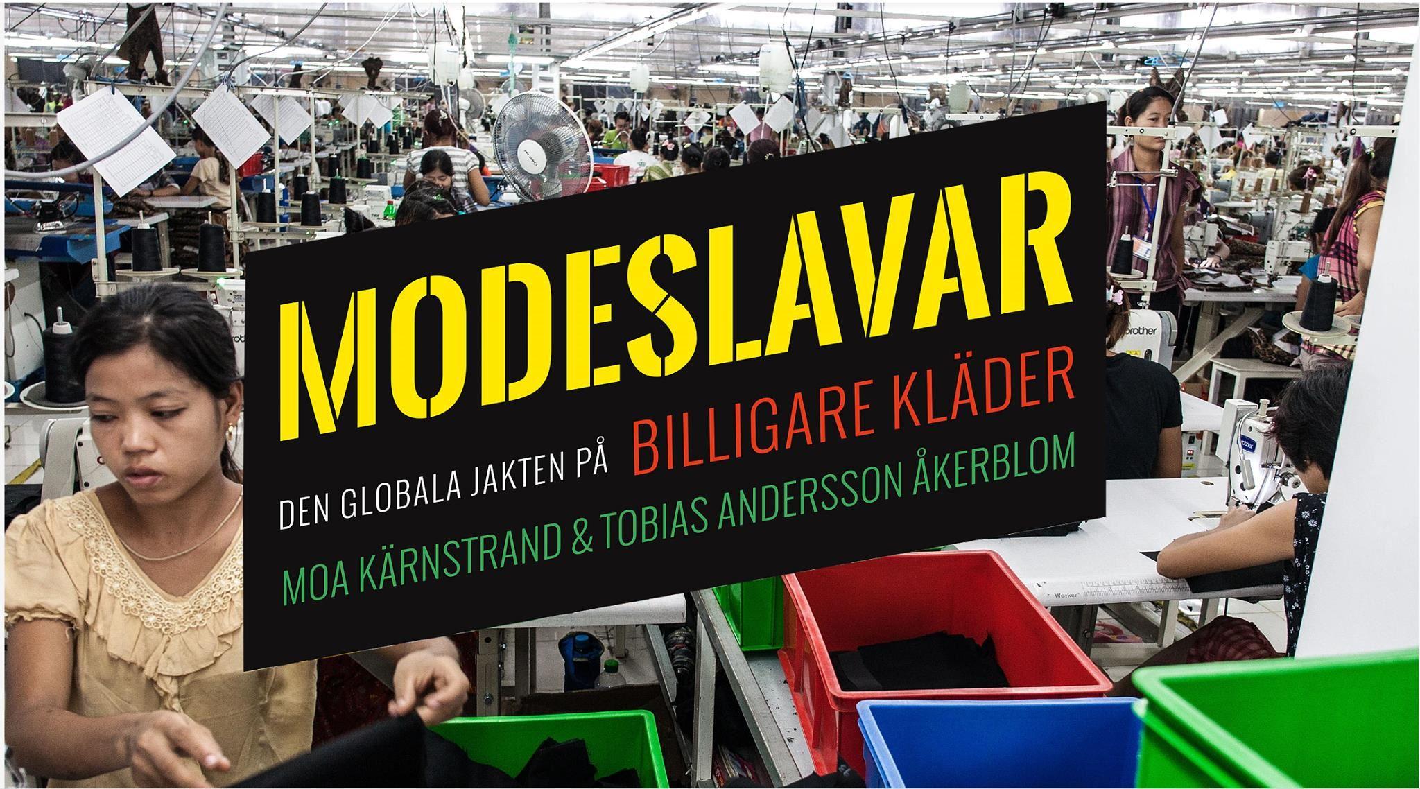 Föreläsning om Modeslavar på Stadsbiblioteket