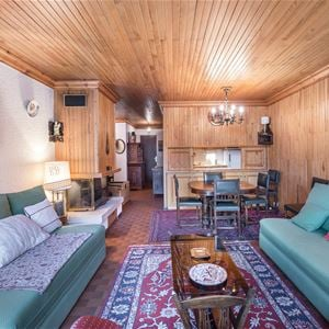 3 rooms 6 people ski in-ski out / OURSE BLEUE 509 (Mountain) / Tranquillity Booking