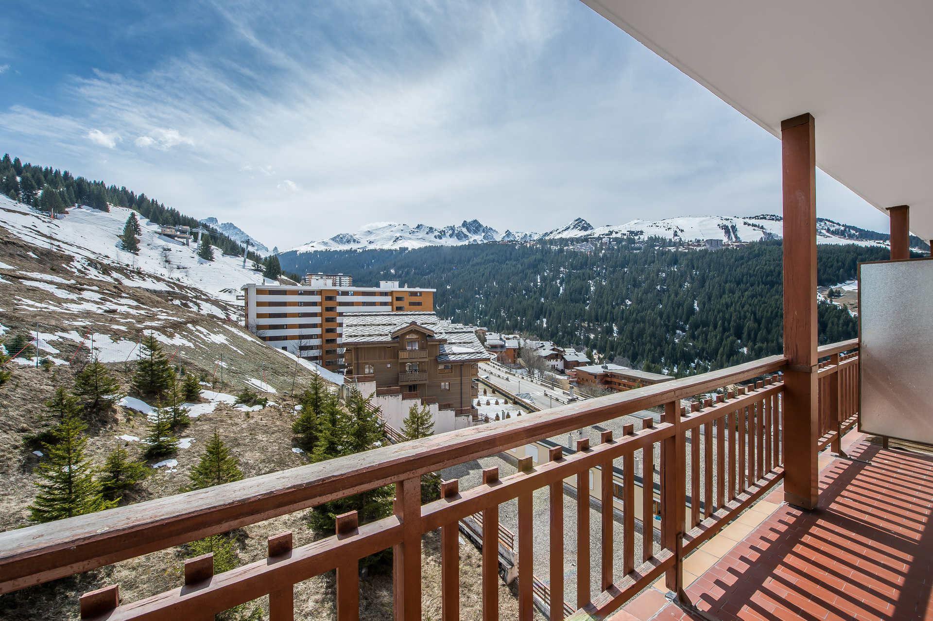 1 studio 4 personnes skis aux pieds / RESIDENCE 1650 18 (Montagne)
