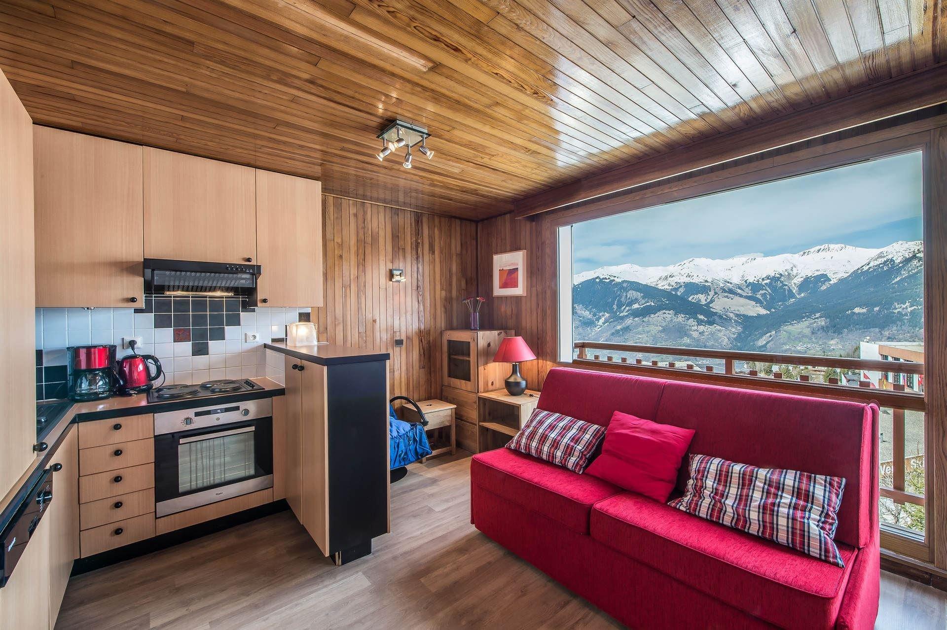 1 studio 4 personnes skis aux pieds / RESIDENCE 1650 25 (Montagne de Charme)