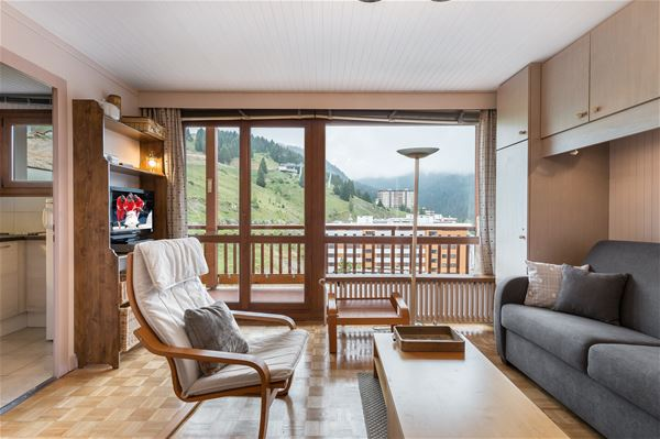1 studio 4 people ski-in ski-out / RESIDENCE 1650 27 (Mountain)