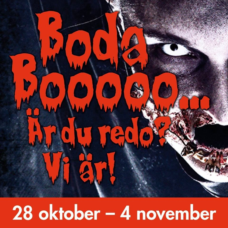 Höstlovskul - Boda Booooo