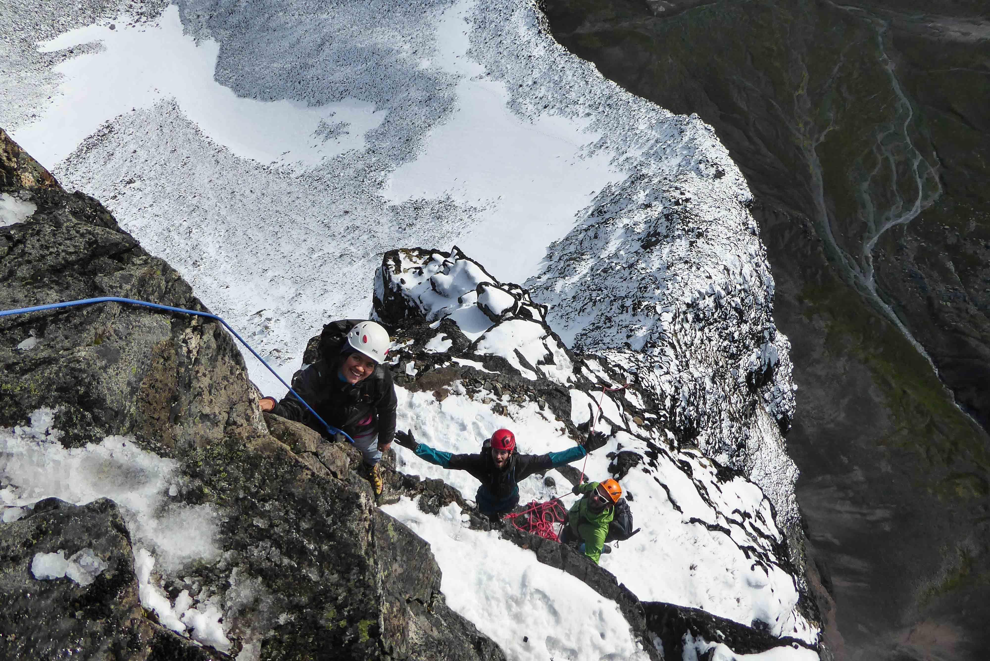 Kebnekaise - Alpin Klättring Toulpagorni