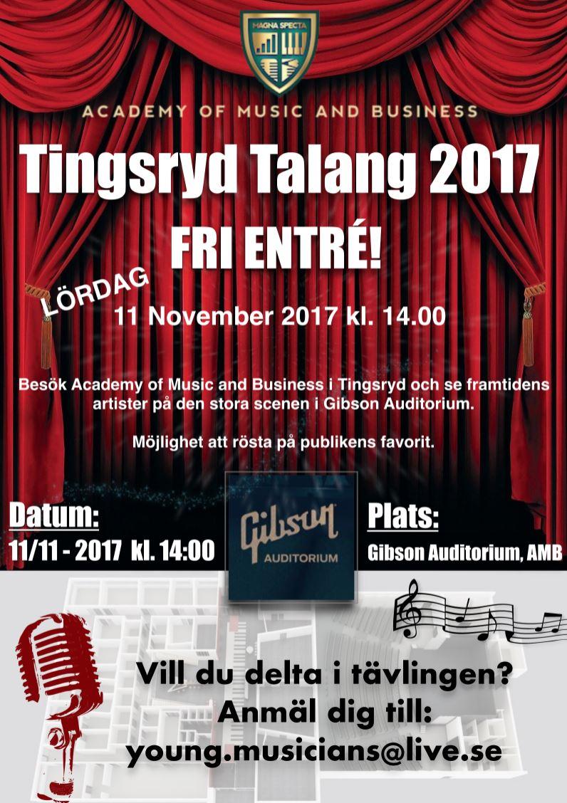Tingsryd Talang 2017