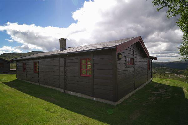 Erland Husom,  © Nasjonalparkriket, Hytte på Haukliseter Rondane