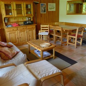 3 rooms 6 people ski-in ski-out / RESIDENCE 1650 29 (Mountain of Charm) / Tranquillity Booking