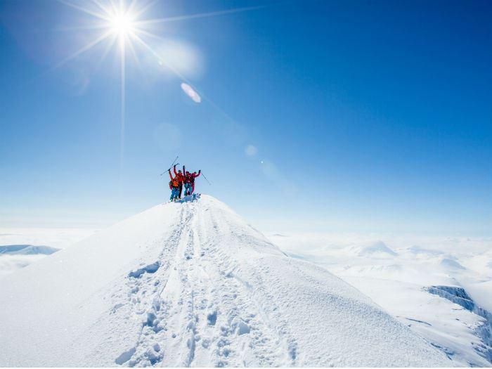 Kebnekaise - Guidad Tur Vinter
