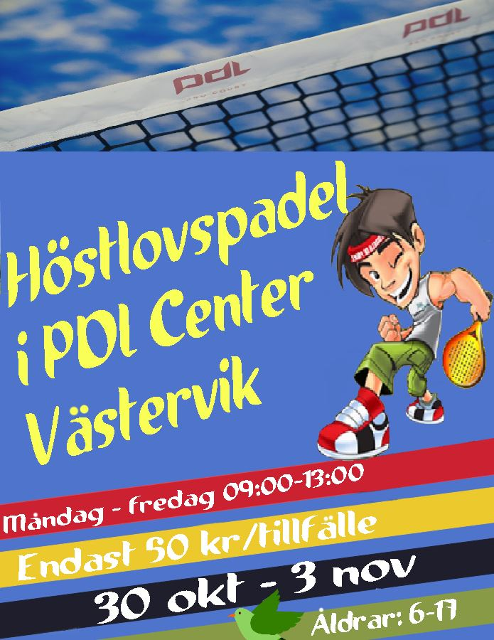 Höstlovspadel på PDL Center
