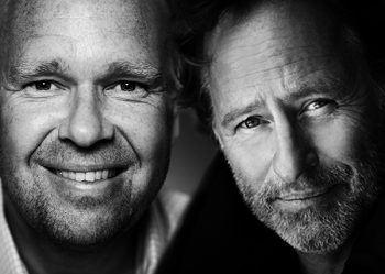 Julhyttsill i Kosta med Lasse Kronér och Uno Svenningsson