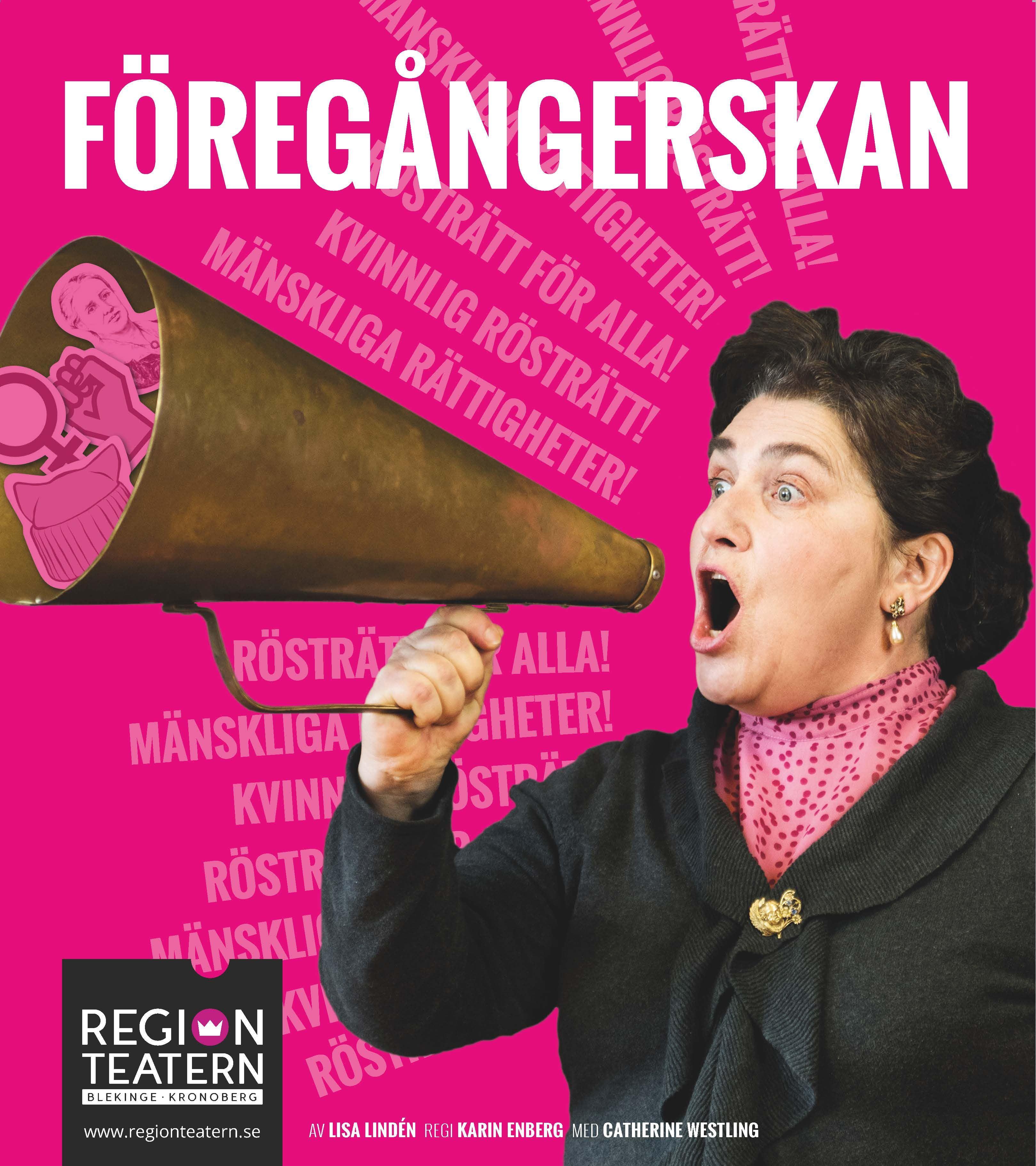Föregångerskan, en föreställning av regionteatern i Växjö