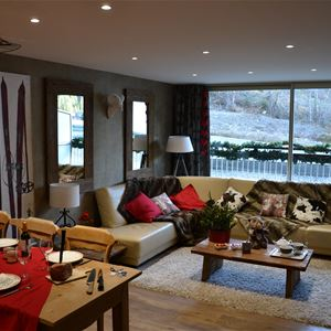 3 rooms 4 people ski-in ski-out / OURSE BLEUE 204 (mountain of dream)