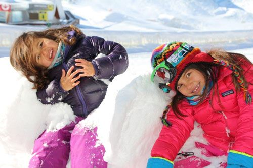 Igloo construction for children