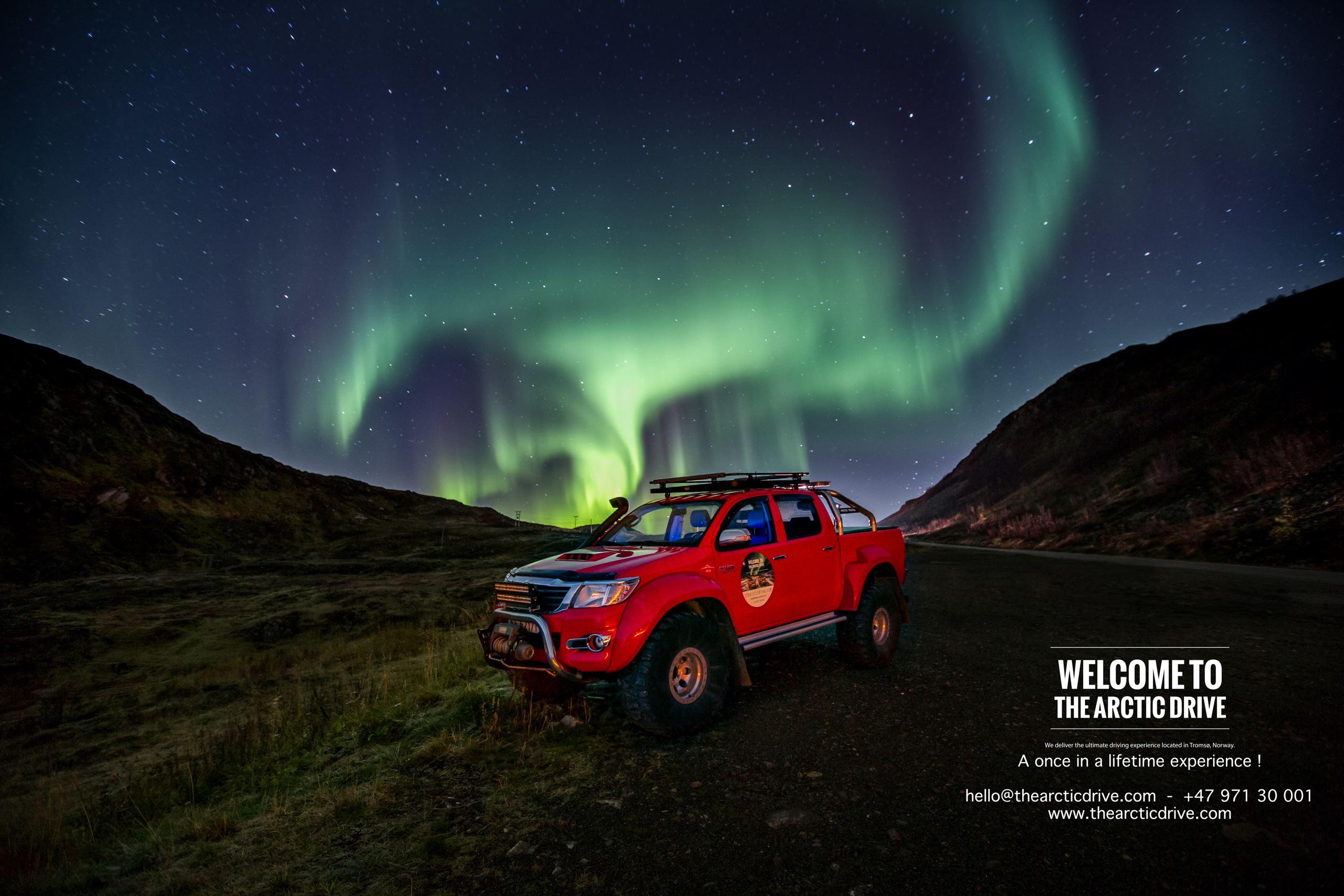 Luksus Minibuss Nordlystur - The Arctic Drive