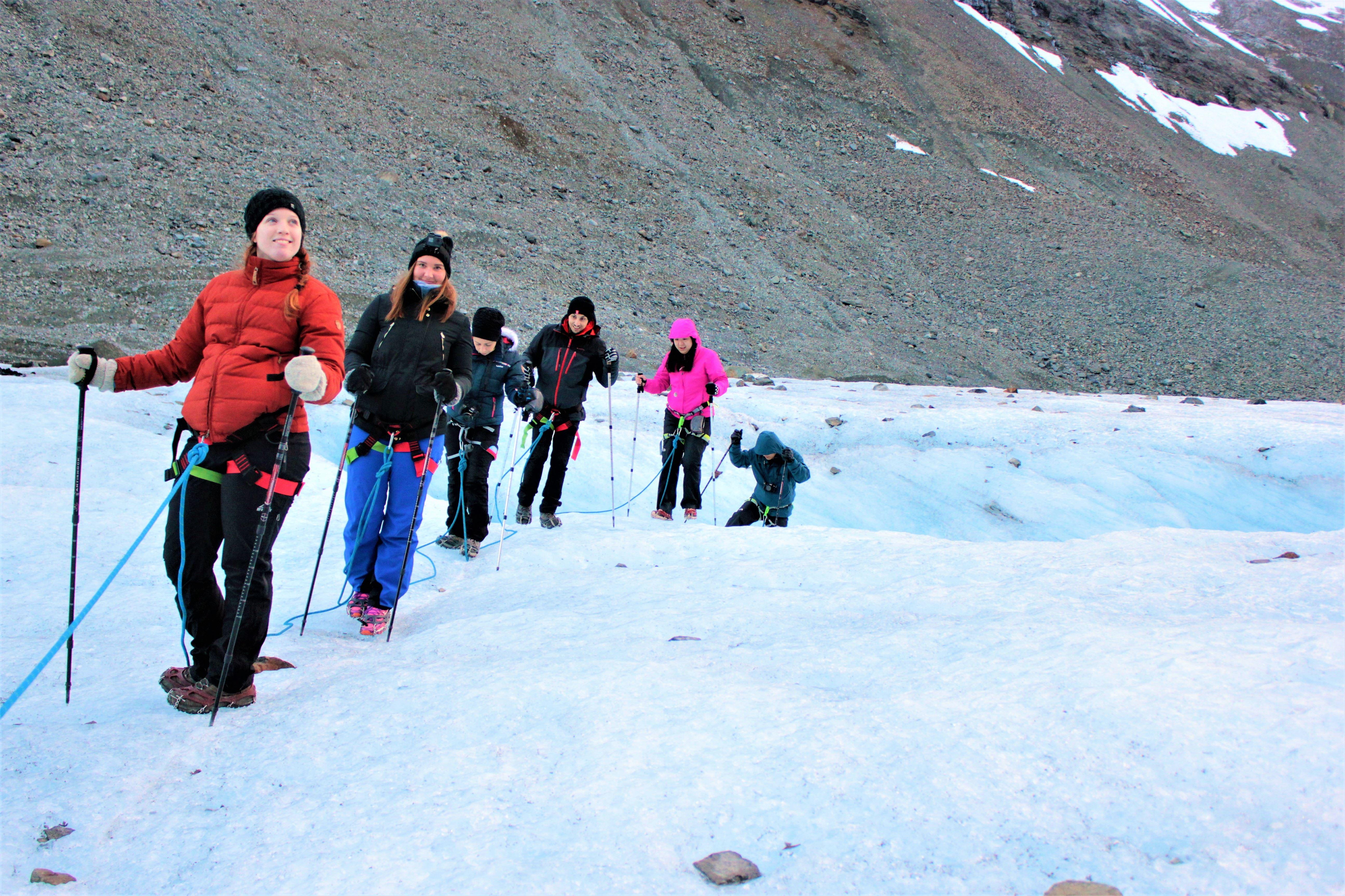 Tur til isbre i Lyngsalpene - Aurora Alps