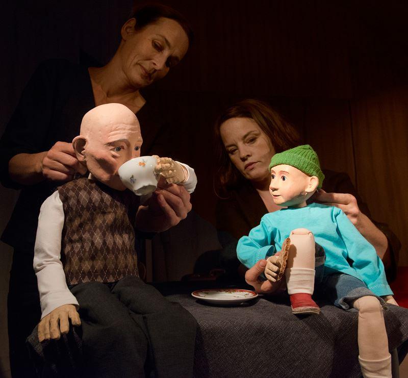 Vilken ålder! teaterföreställning med Ölands dramatiska teater på Lindero i Mörbylånga