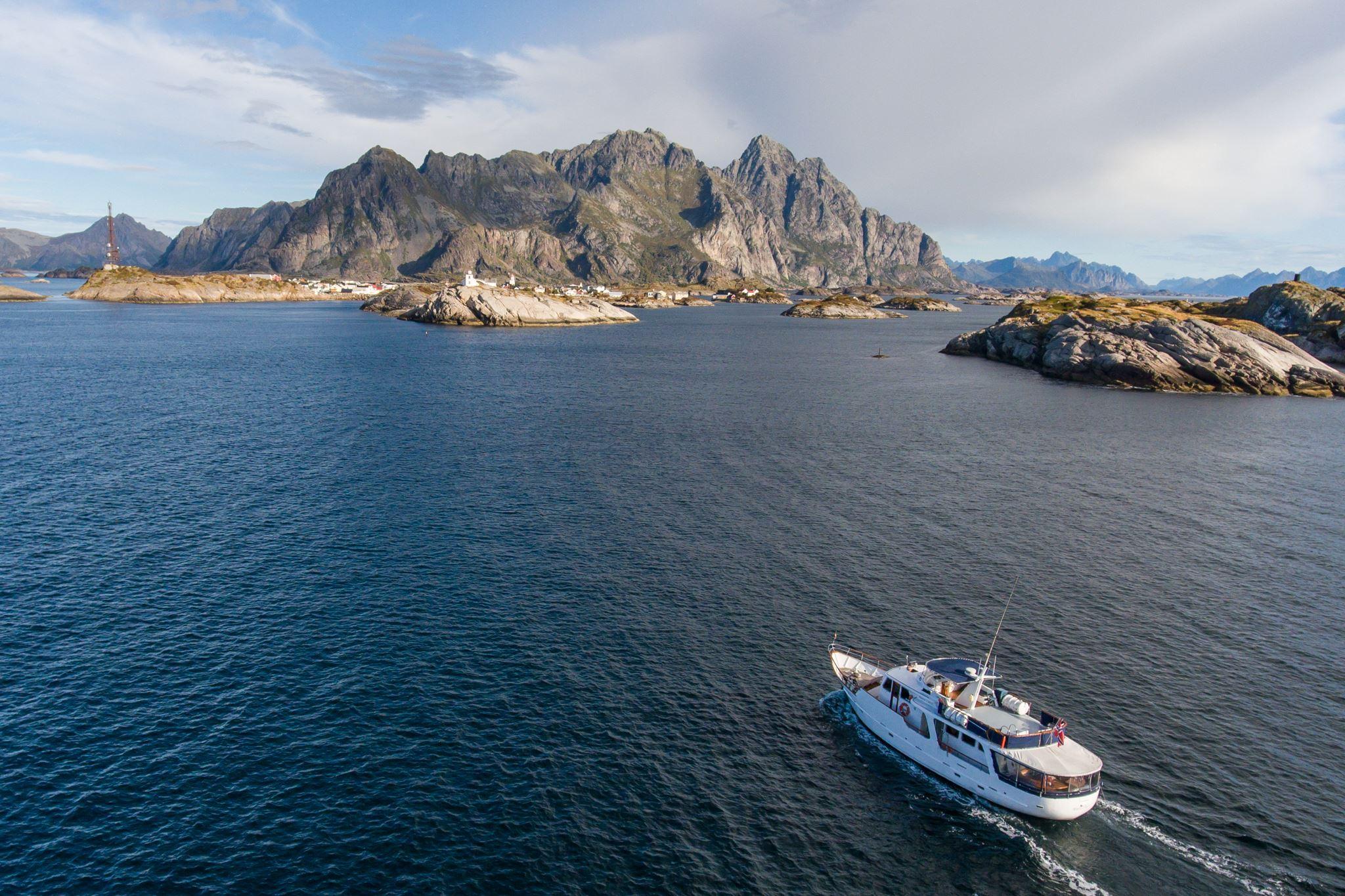 Storslått fjordcruise på luksuriøs yacht – Polar Yacht
