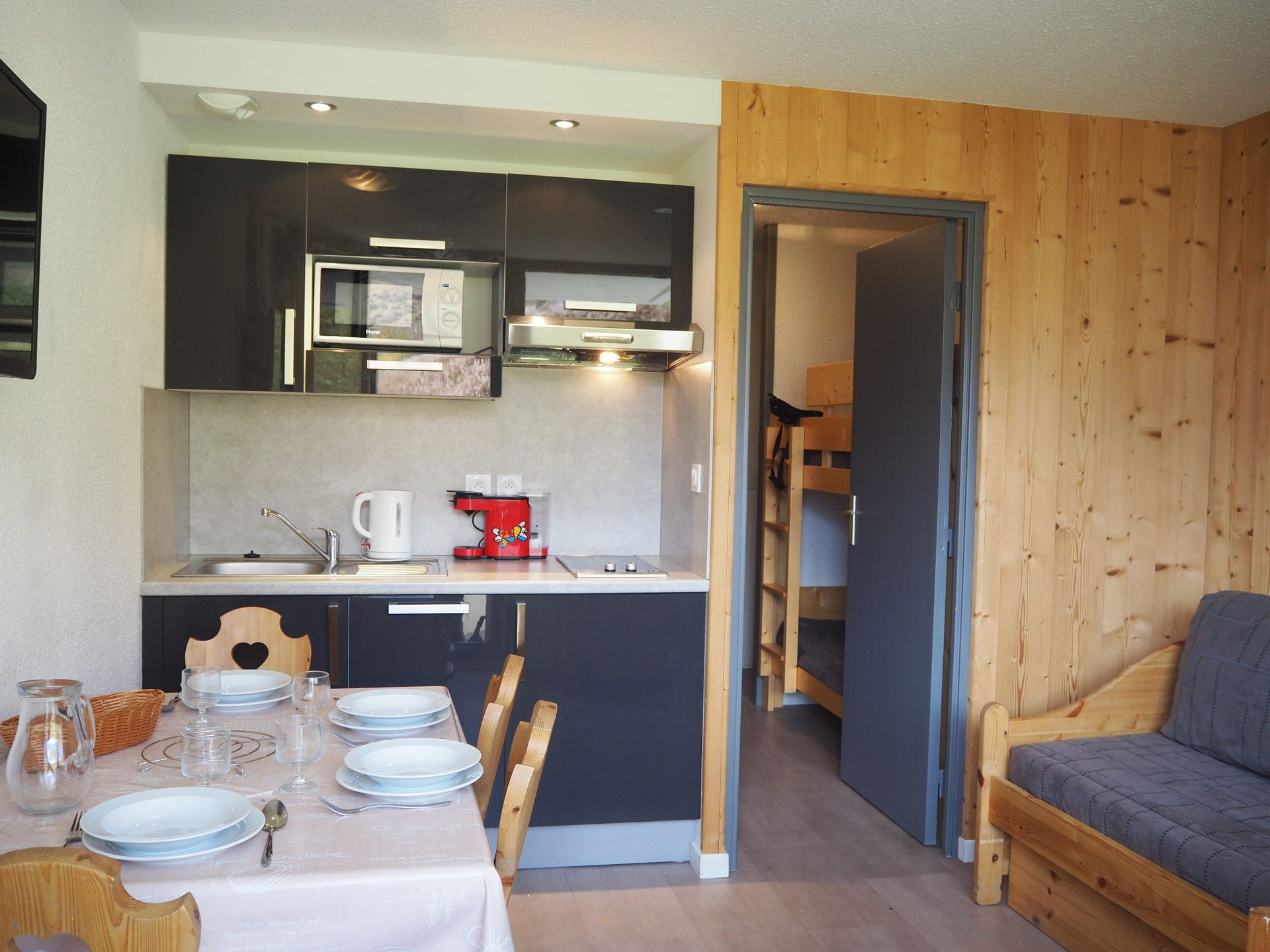 Studio 3 pers 150m from the slopes / MEDIAN 125