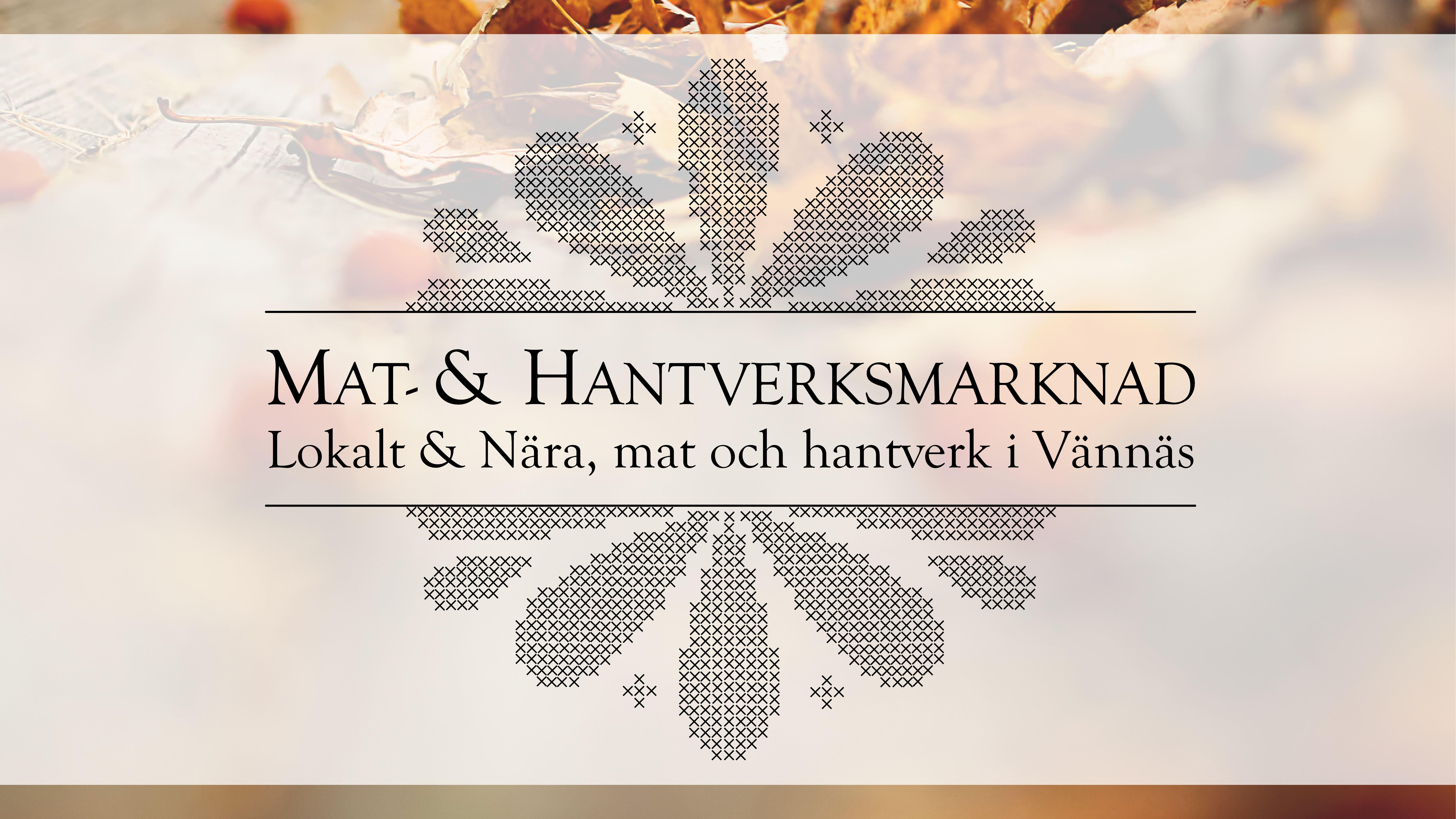 Mat- & Hantverksmarknad