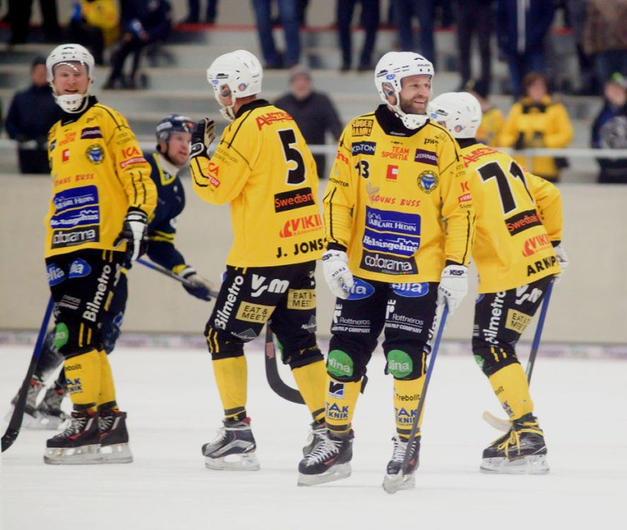 Broberg/Söderhamn bandy spelar elitserien