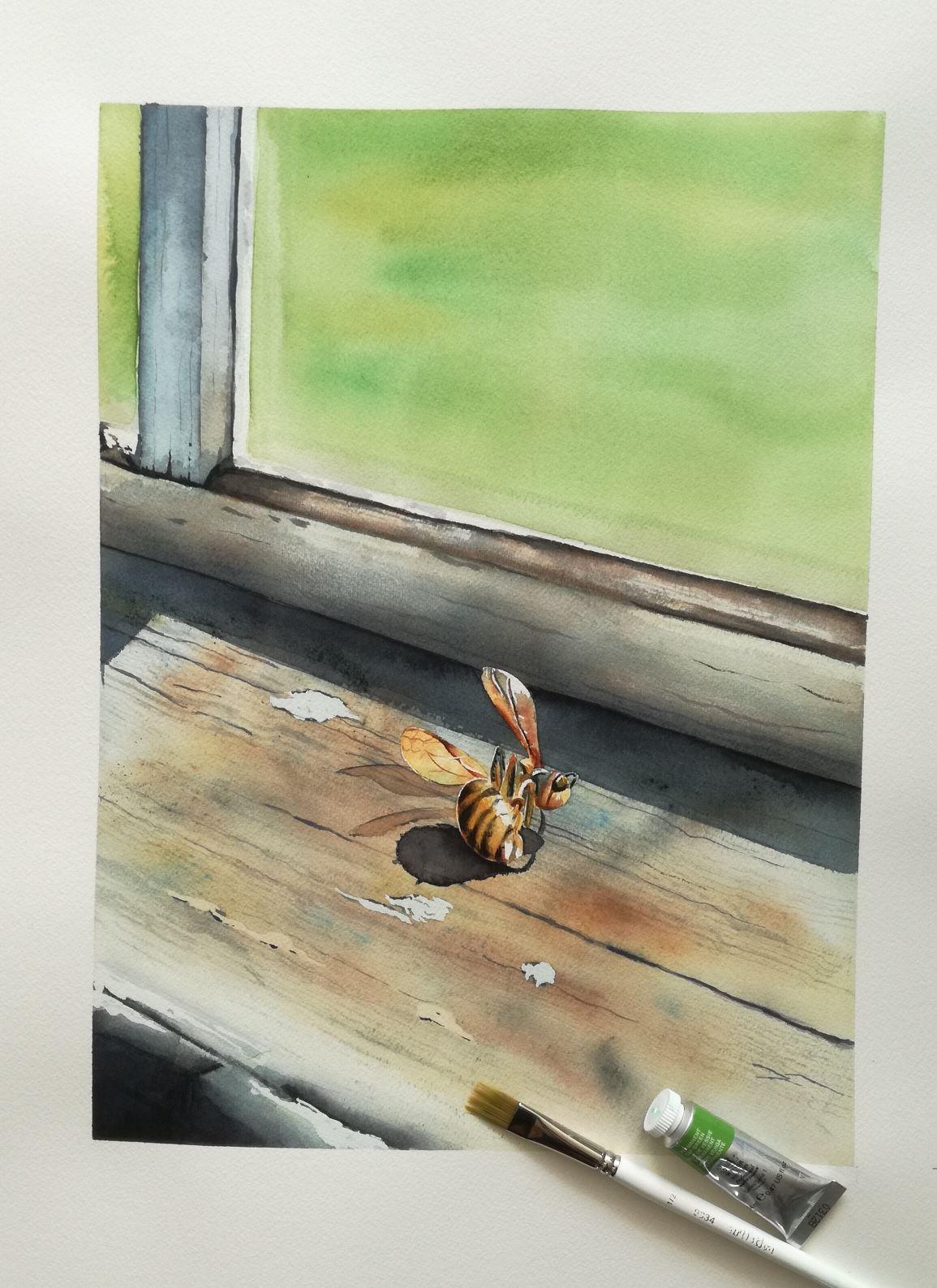 Konstutställning: Akvarell- & oljemålningar