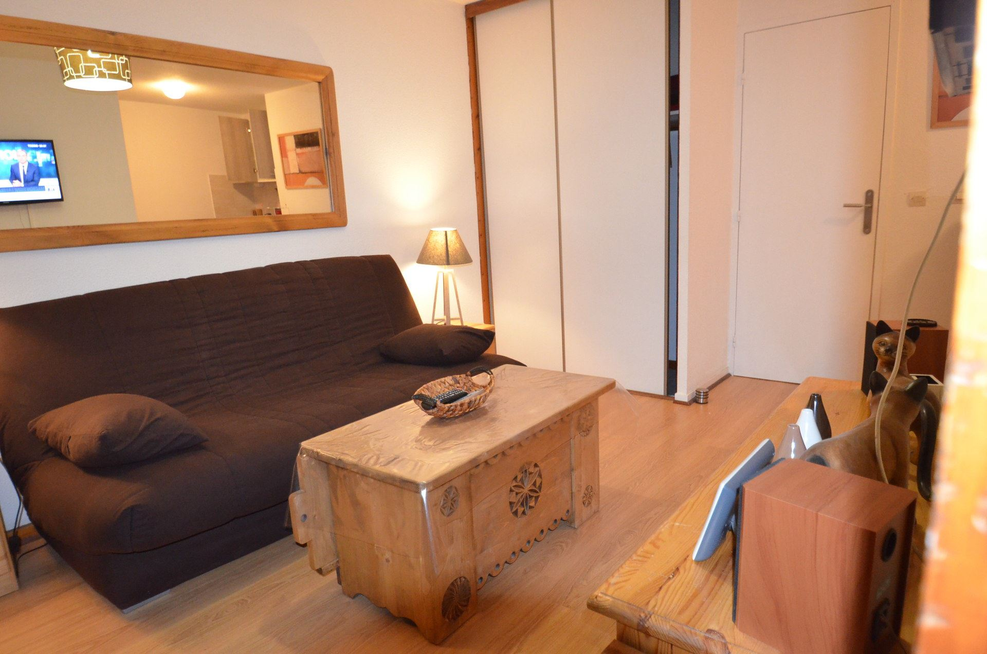 2 Room + cabin 4 pers ski-in ski-out / BALCONS D'OLYMPIE 13