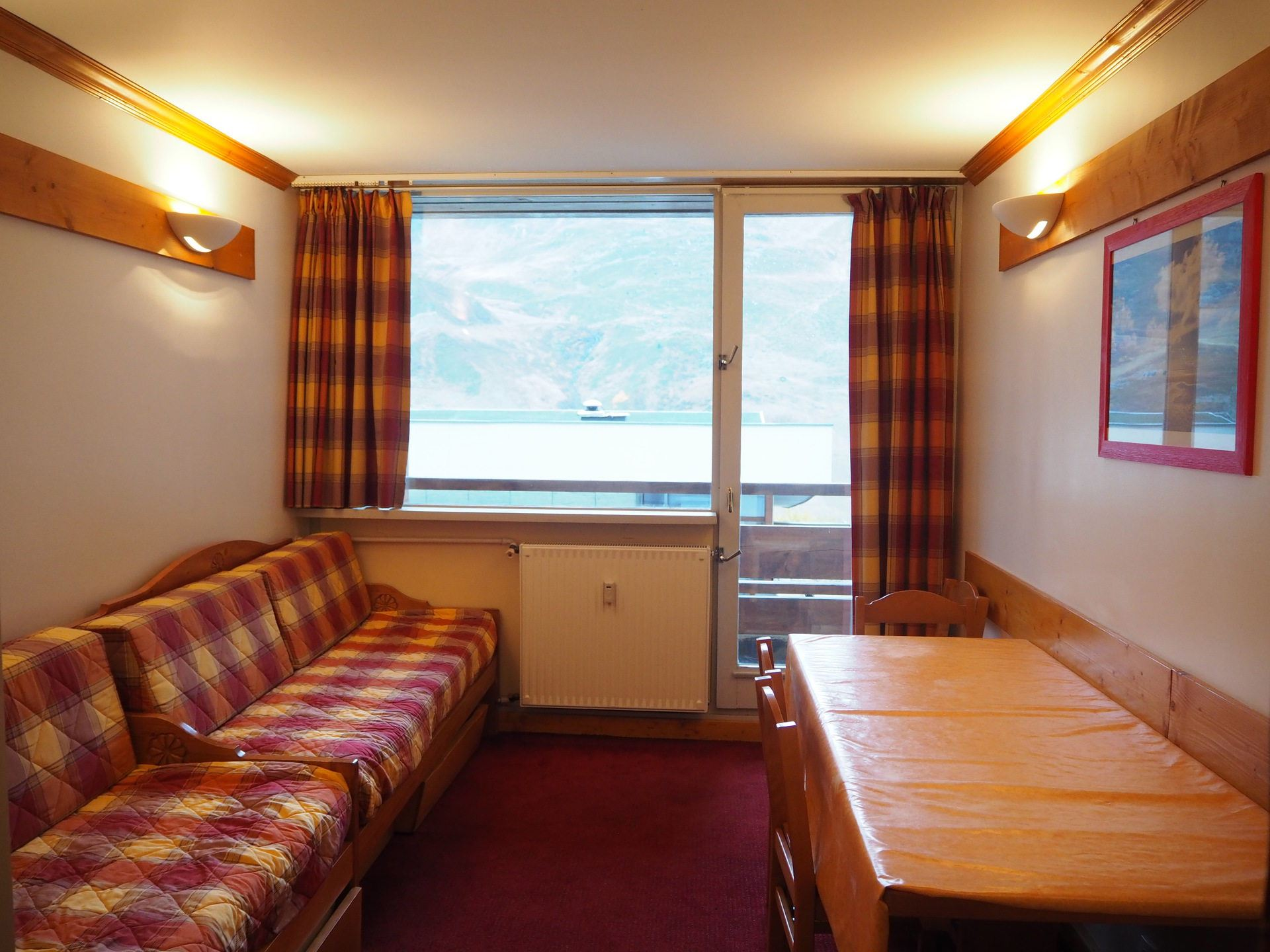 2 Rooms 5 Pers ski-in ski-out / LES LAUZES 4