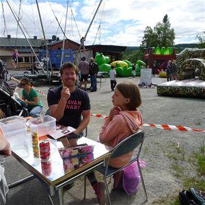 Gränshandelsmarknaden i Tärnaby