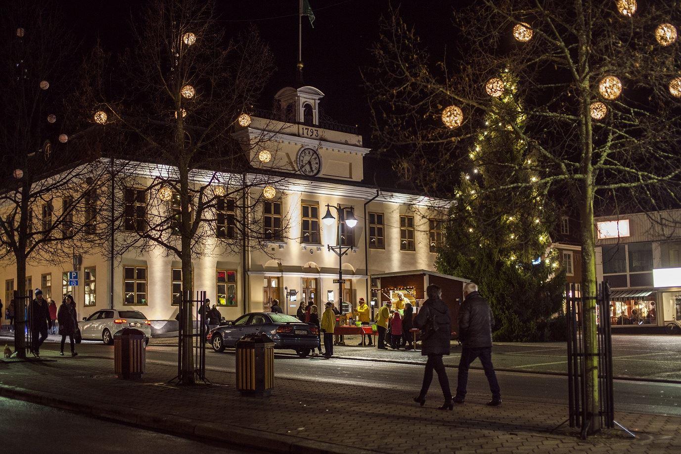Inflyttarträff med jul- och historietema