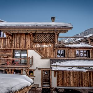 CHALET L'ETAGNE: mountain of exception (Rated 4