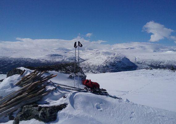 © Bjorli Skiskole , Topptur på ski til Bjorlitoppen eller Rånåkollen