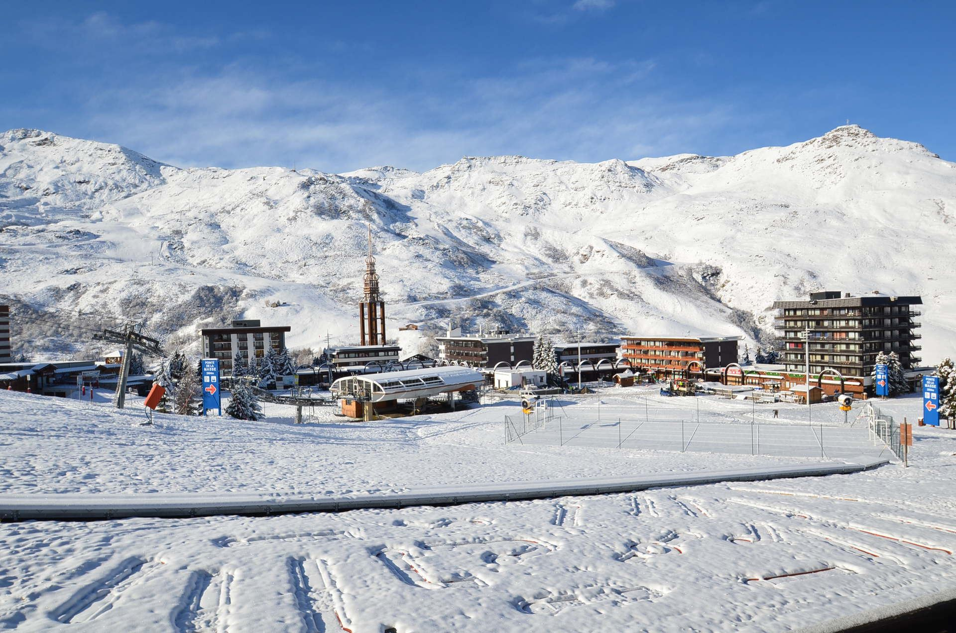2 Rooms 6 Pers ski-in ski-out / ARAVIS 318