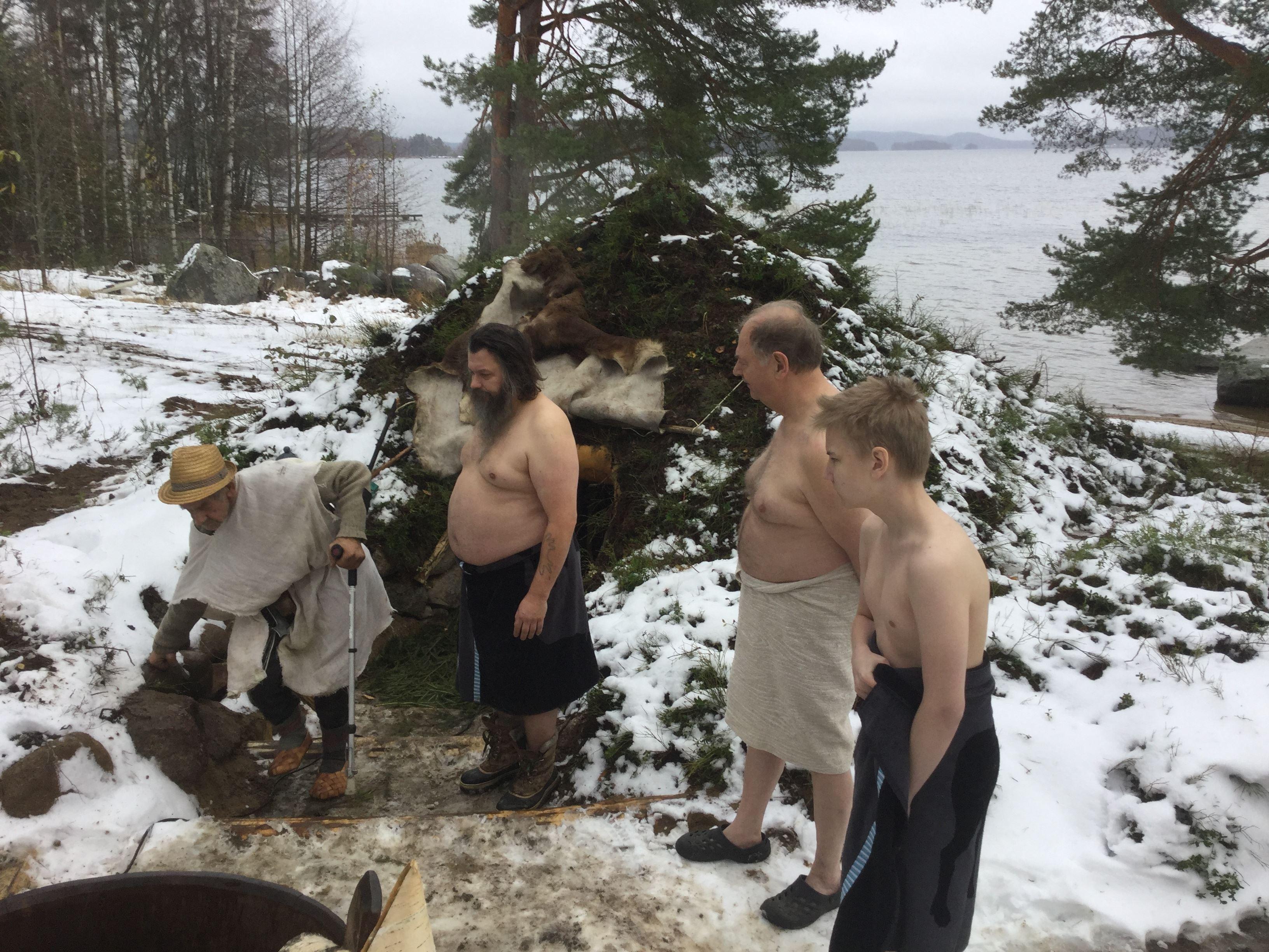 Kivikautinen sauna | Kullasmarina