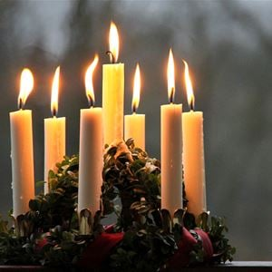 Saint Lucy candles