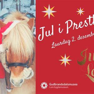 Jul i Presthaugen i Lom