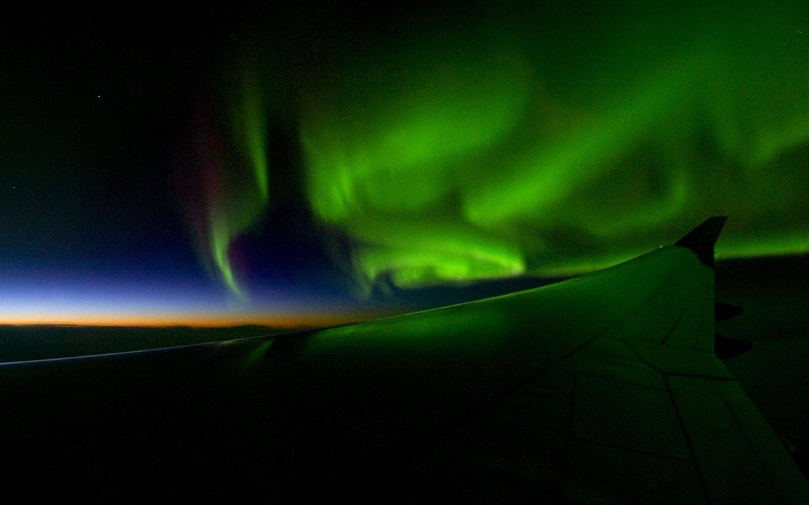 Nordlysflyging - Tromsø Budget Tours