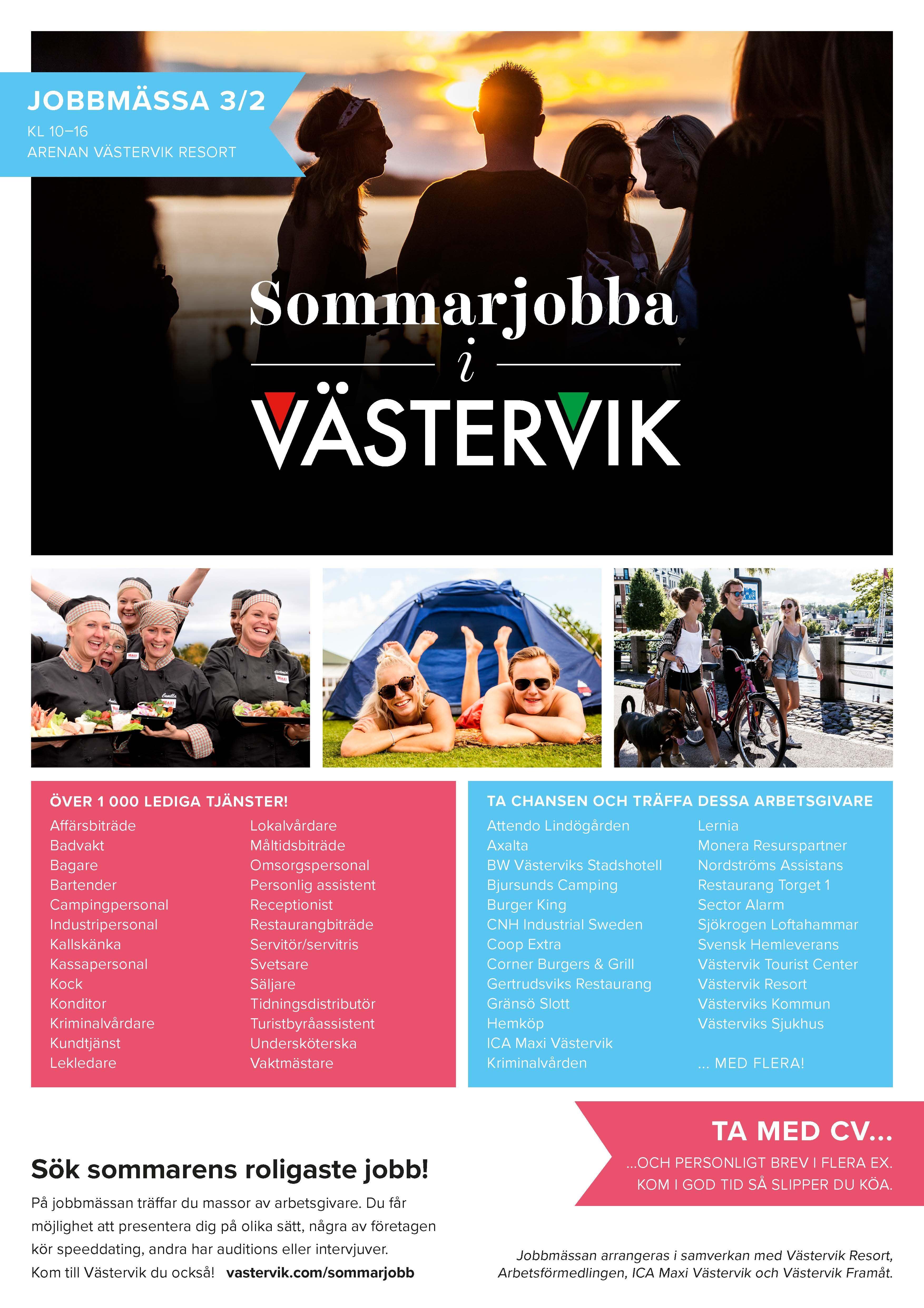 Sommarjobba i Västervik