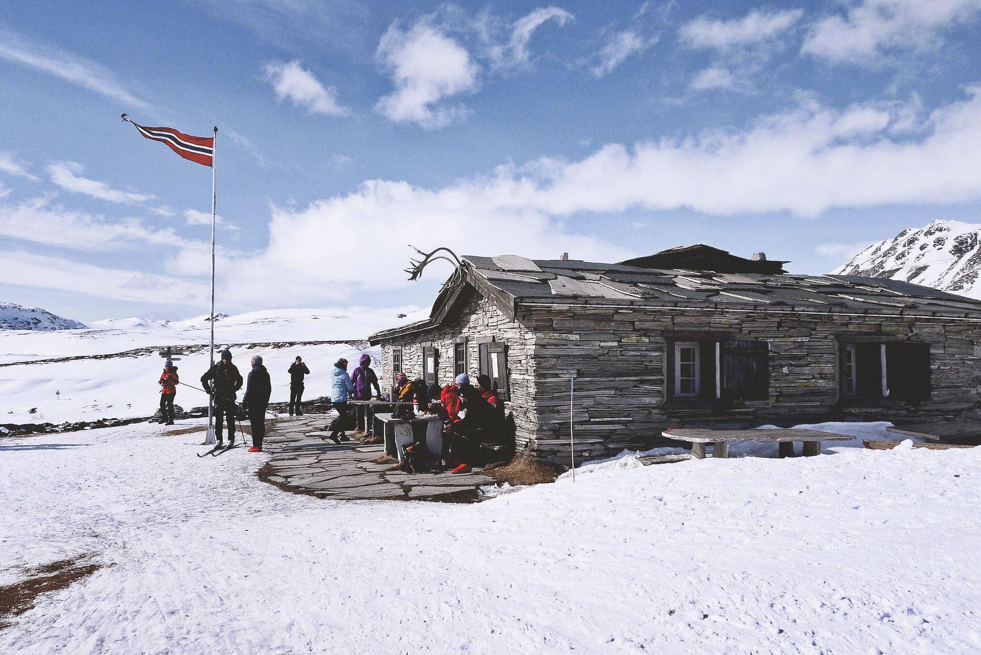 Peer Gynt-hytta i Rondane Nasjonalpark.