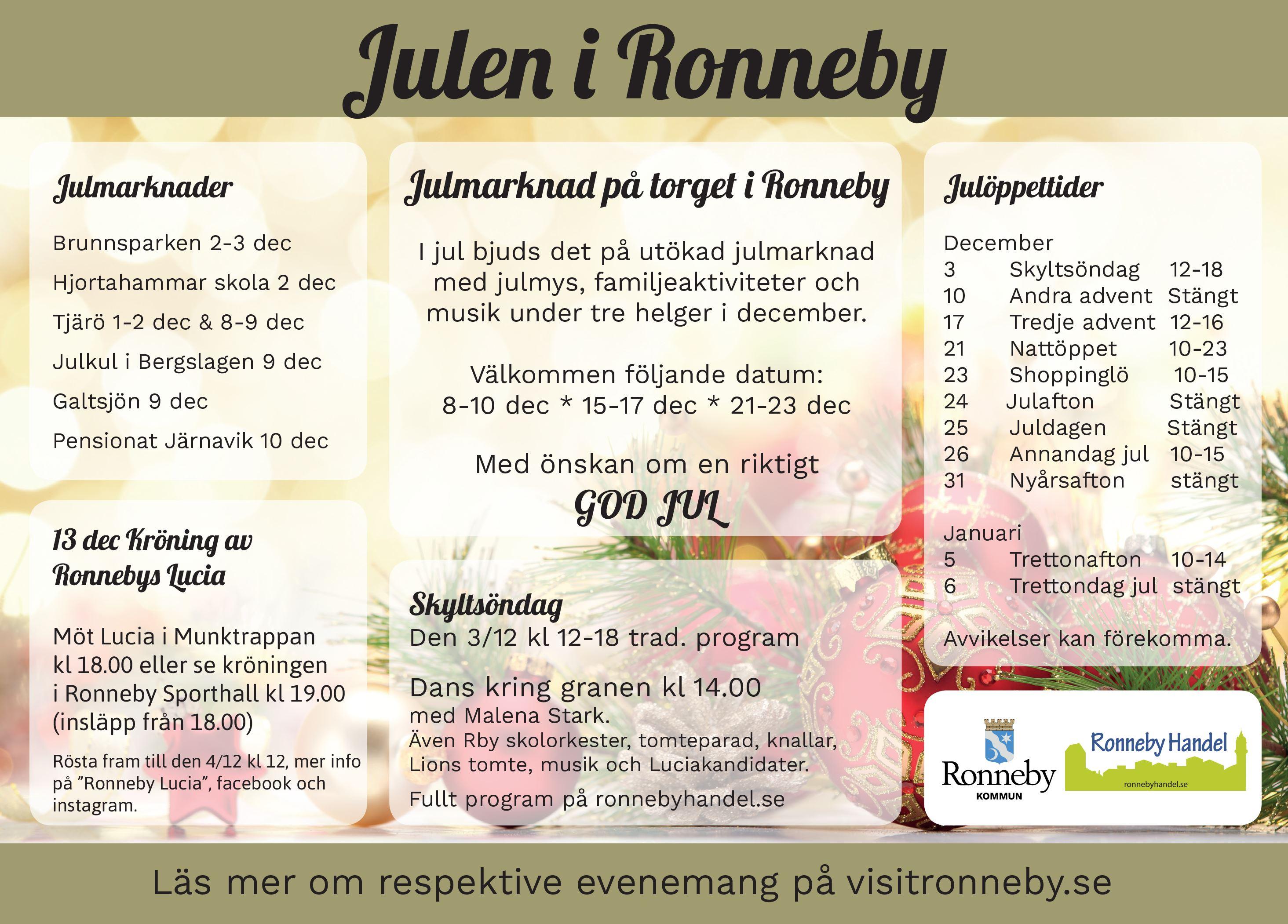 Ronneby Julmarknad