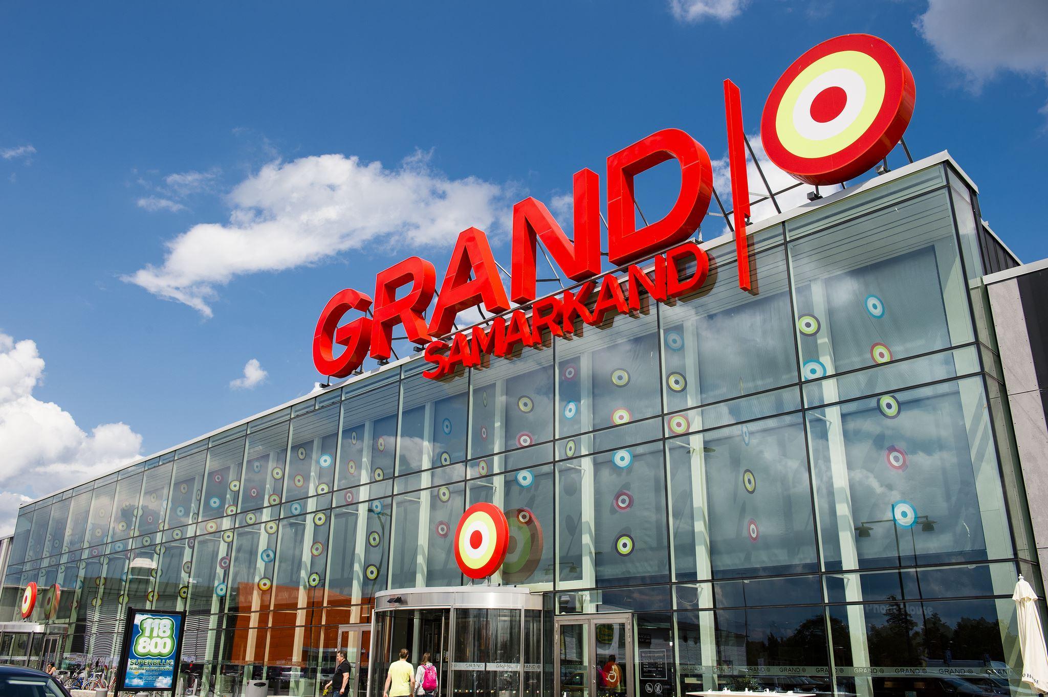 Grand Samarkand shopping centre
