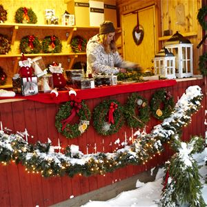 Julmarknader i Glasriket