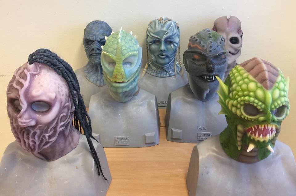10-day Silicone Mask Making Workshop at Helsinglight SFX, Sweden