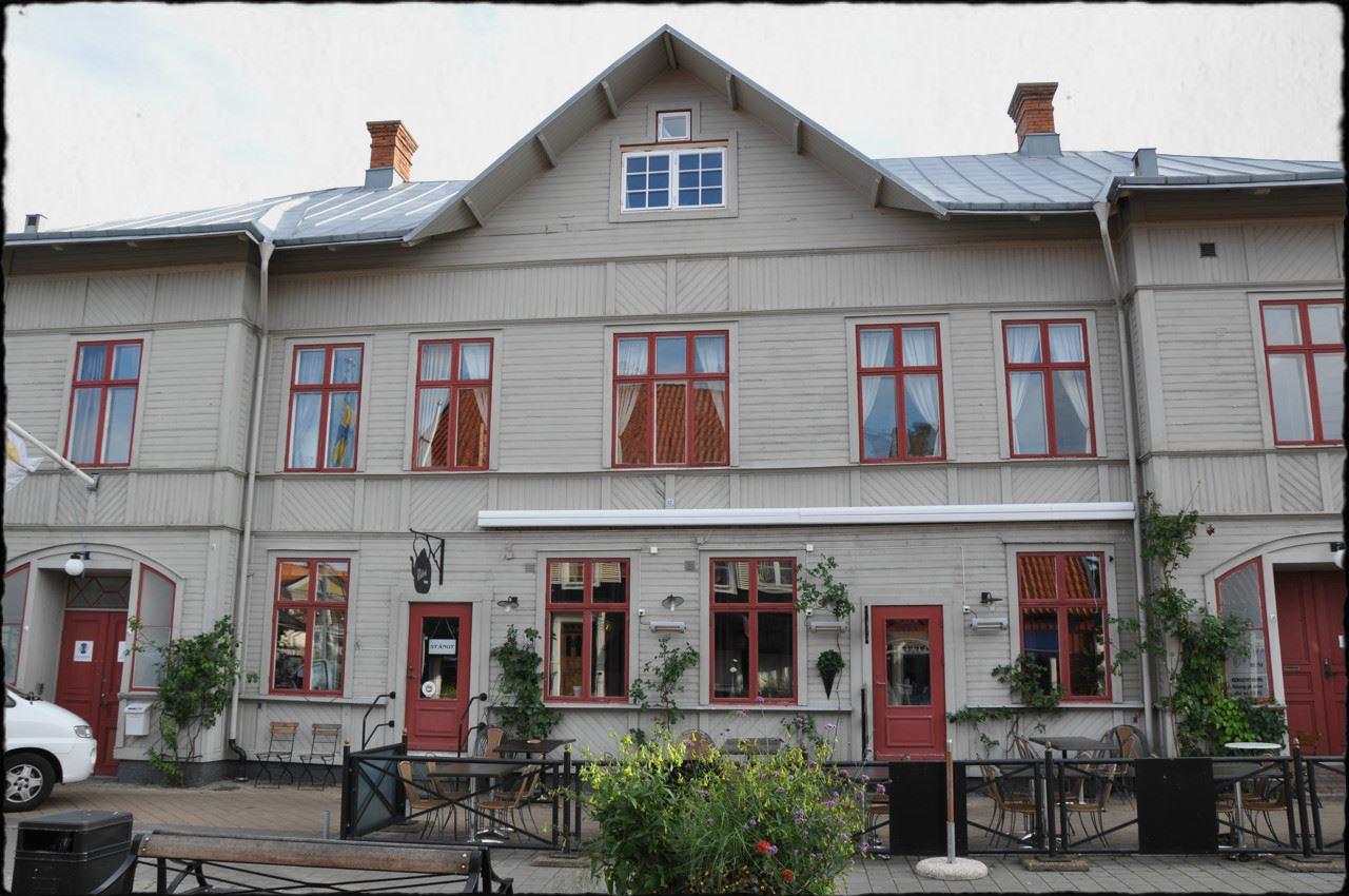 Ebbas Trädgårdscafé i Borgholm
