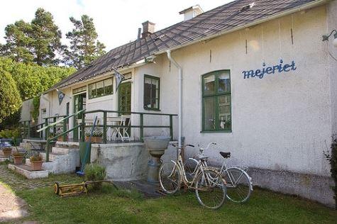 Café Mejeriet, Vickleby
